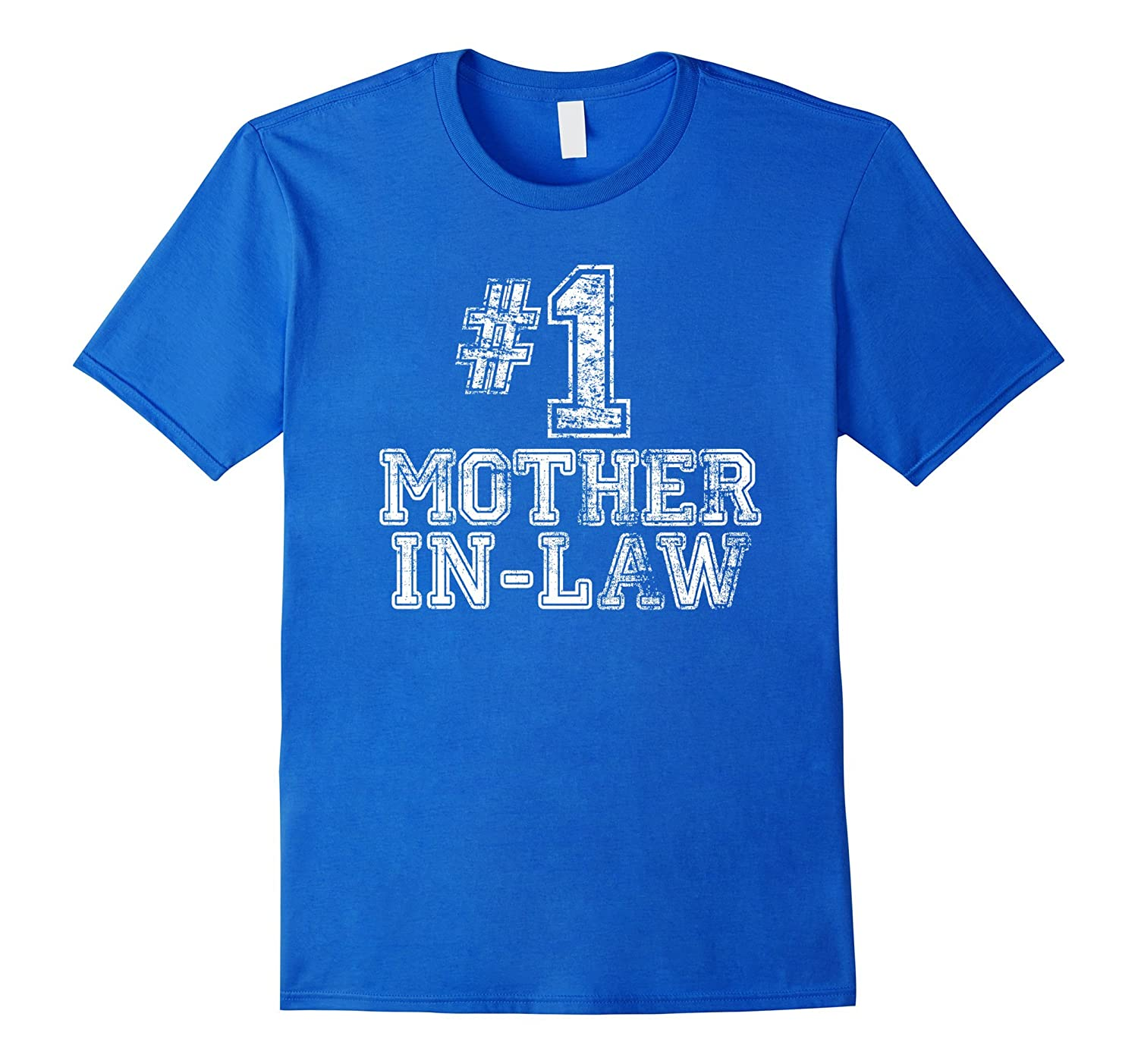 #1 Mother-in-Law T Shirt - Number One Mother's Day Gift Tee-TH