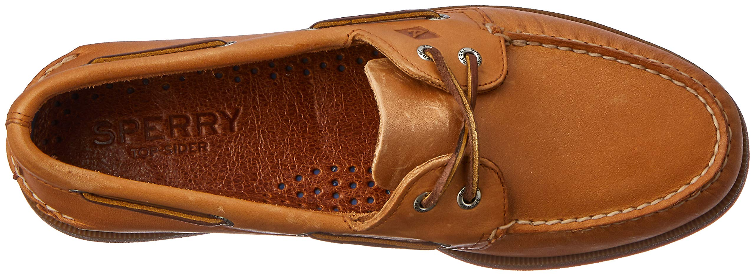 Sperry Top-Sider Authentic Original Leather Boat Shoe Men 13 Sahara Leather by SPERRY (Image #8)