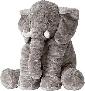 IKEA JATTESTOR Soft Toy, Elephant, Gray