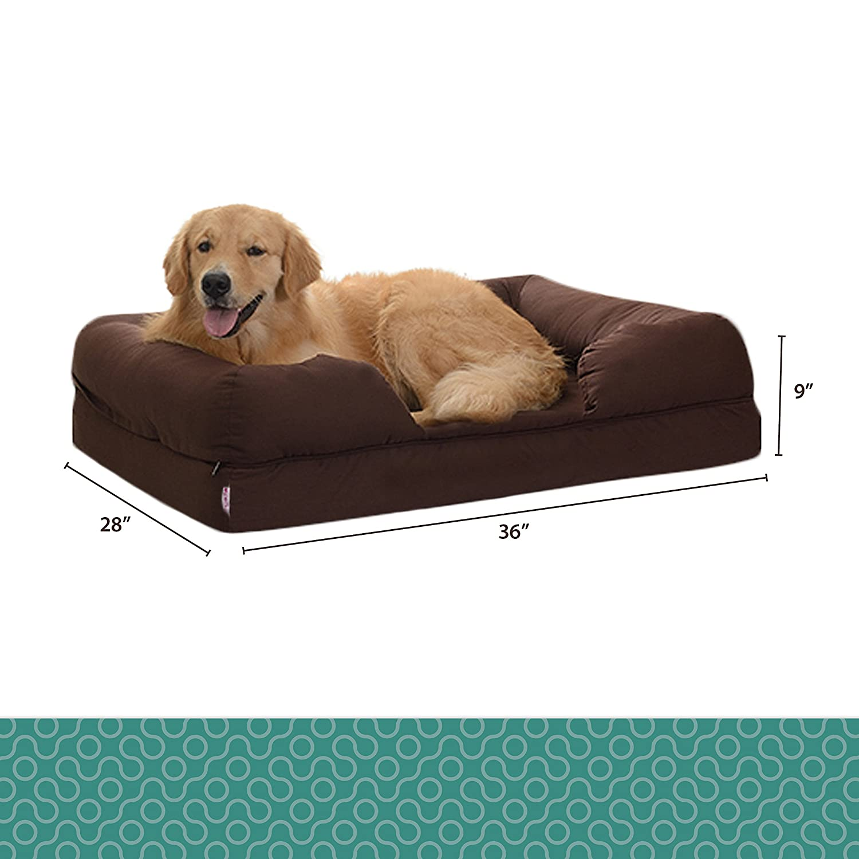 Amazon Orthopedic Pet Sofa Bed Dog Cat or Puppy Memory