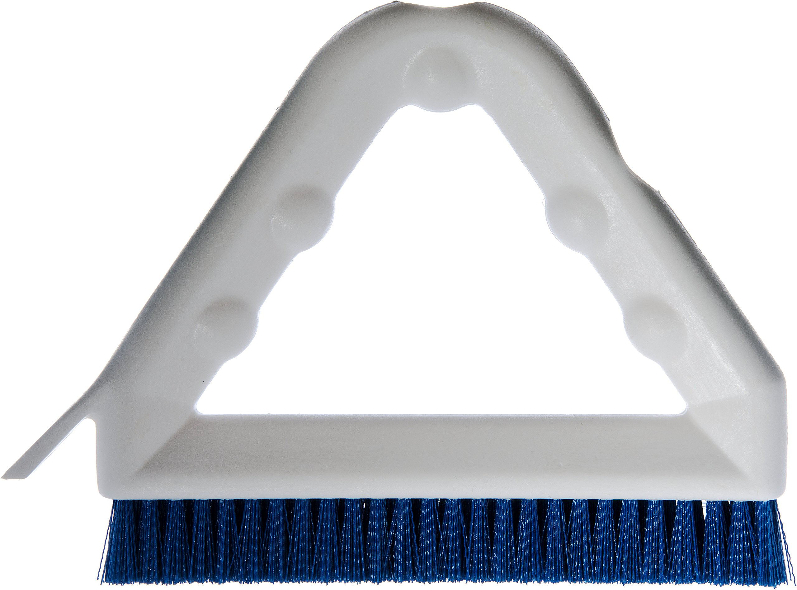Carlisle 4132314 Sparta Tile and Grout Brush with Scraper, 9'', Blue by Carlisle (Image #5)