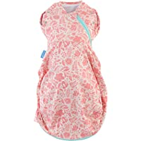 The Gro Company Wild Posy Light Newborn Plus Swaddle Grobag,