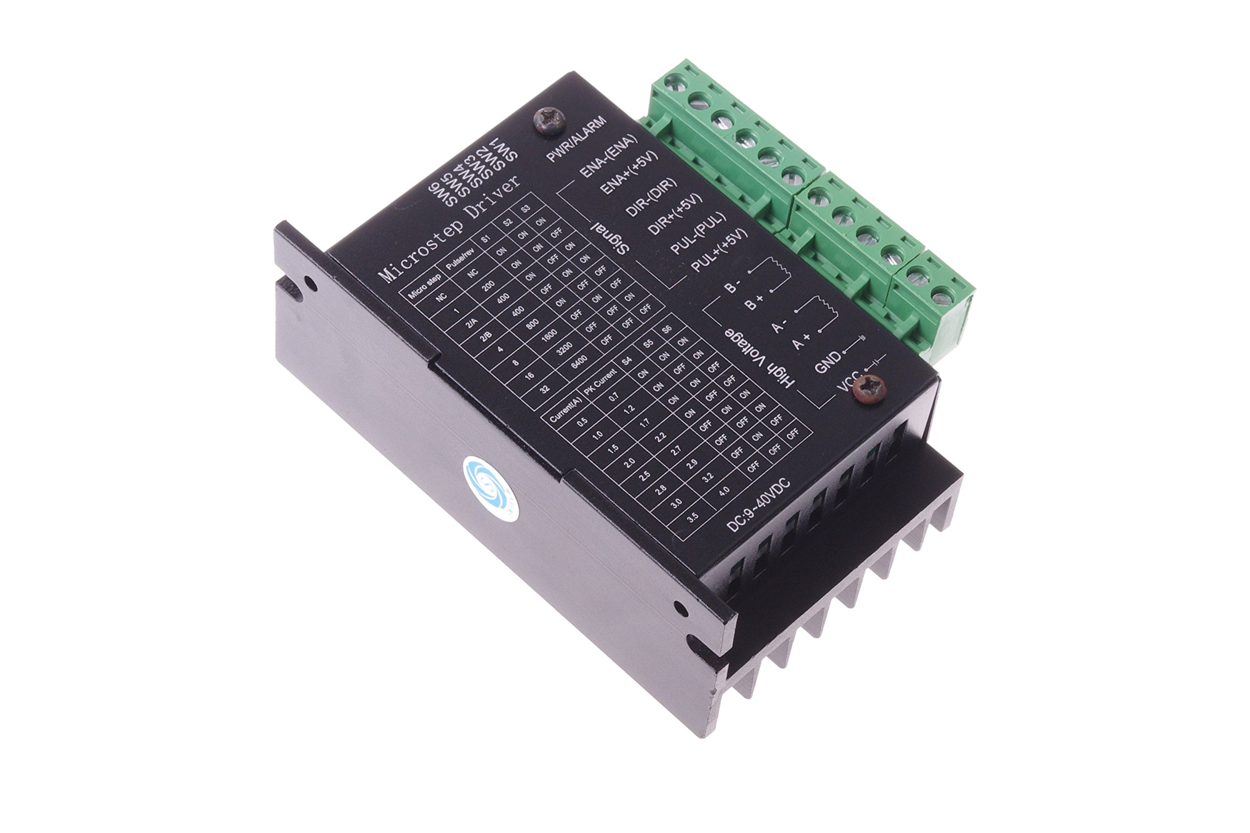 SMAKN TB6600 Upgraded Version 32 Segments 4A 40V 57/86 Stepper Motor Driver