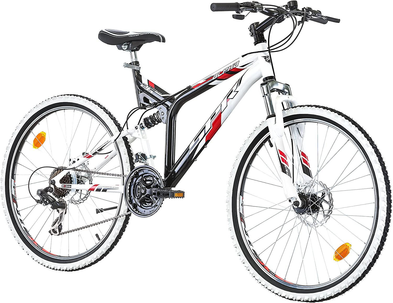 SPR ALPHA Bicicleta de montaña de suspensión, 26