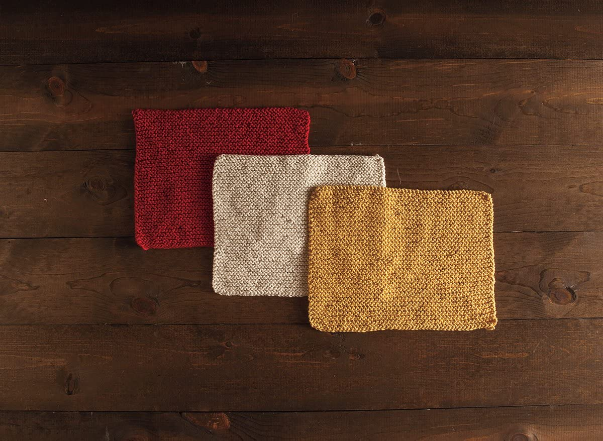 Bayside Dishcloth Knit Picks Learn to Knit Beginner Kit