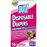 OUT! Disposable Female Dog Diapers, Multiple Sizes