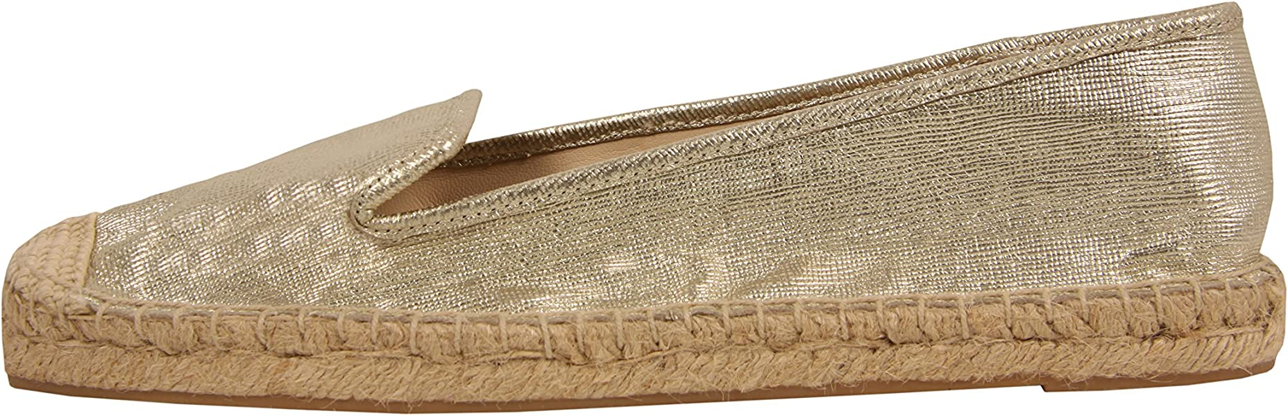 Nine West Nwbeachinit - Alpargatas para mujer, color dorado, talla 40 EUR (90 USA)