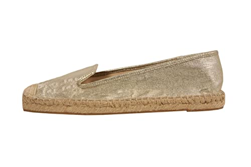 Nine West Nwbeachinit - Alpargatas para mujer, color dorado, talla 38 EUR (70
