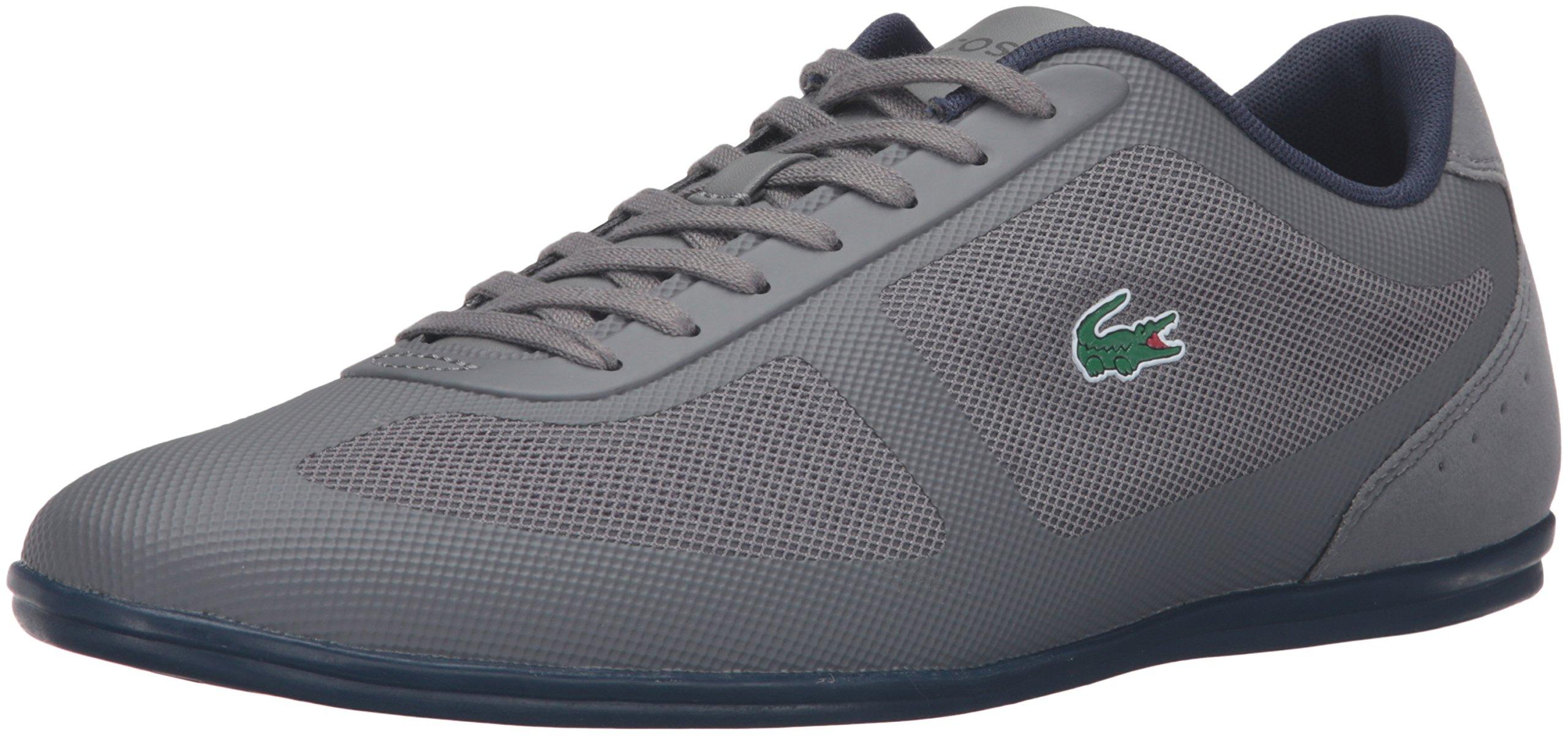 Lacoste Men's Misano Evo 316 1 Spm Fashion Sneaker, Grey, 8 M US