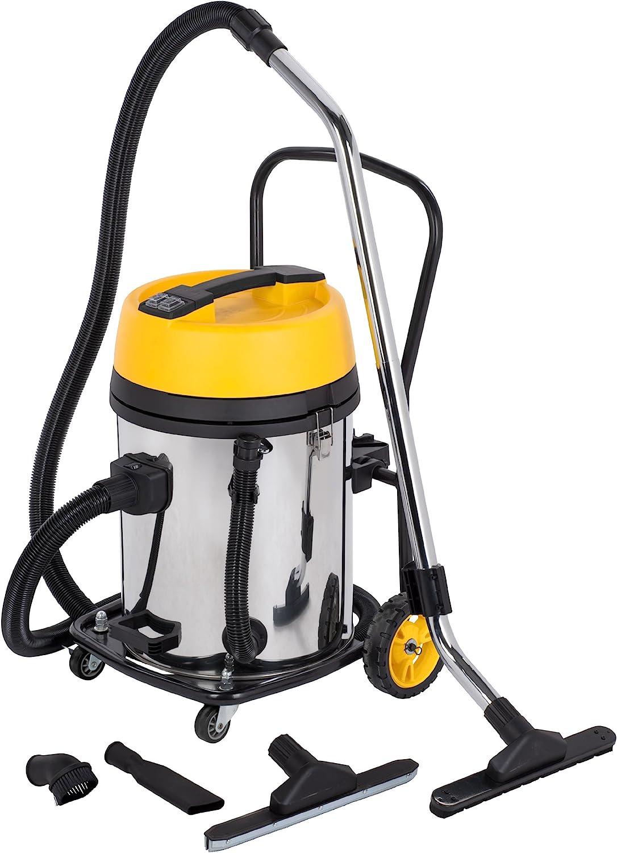 POWERPLUS POWX325 - Aspirador seco/húmedo 2 motores de 1200w: Amazon.es: Bricolaje y herramientas