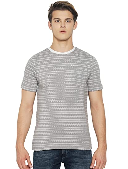 Vudu Men's Slim Fit Casual T-Shirt: Amazon in: Clothing & Accessories