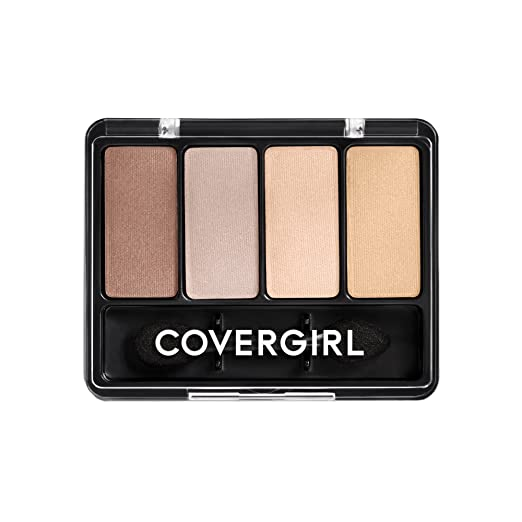 COVERGIRL Eye Enhancers 4-Kit Eye Shadow Sheerly Nudes, .19 oz (packaging may vary)