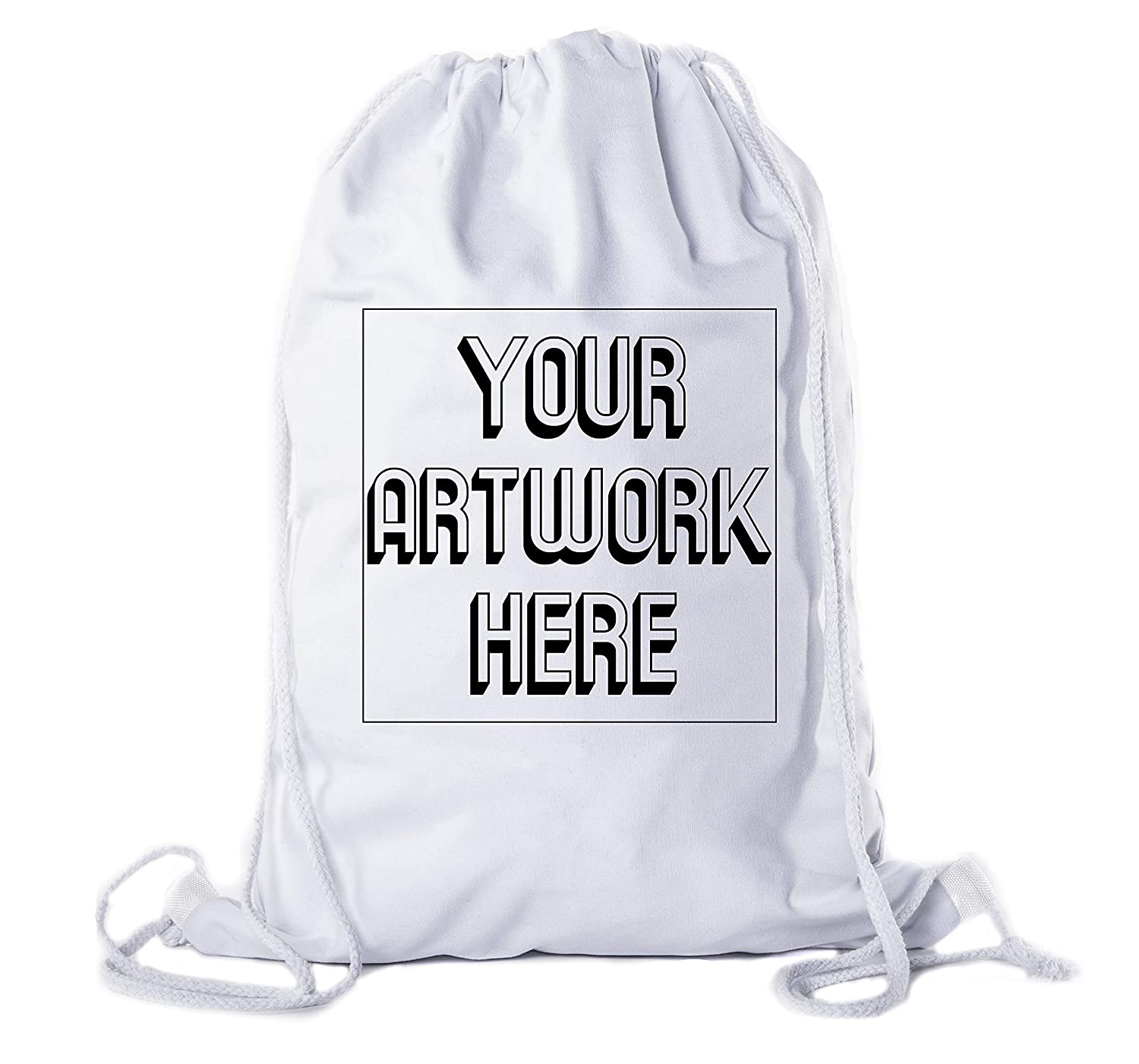 Personalized Promotional Cotton Bags Mato /& Hash Wholesale Custom Drawstring Backpacks