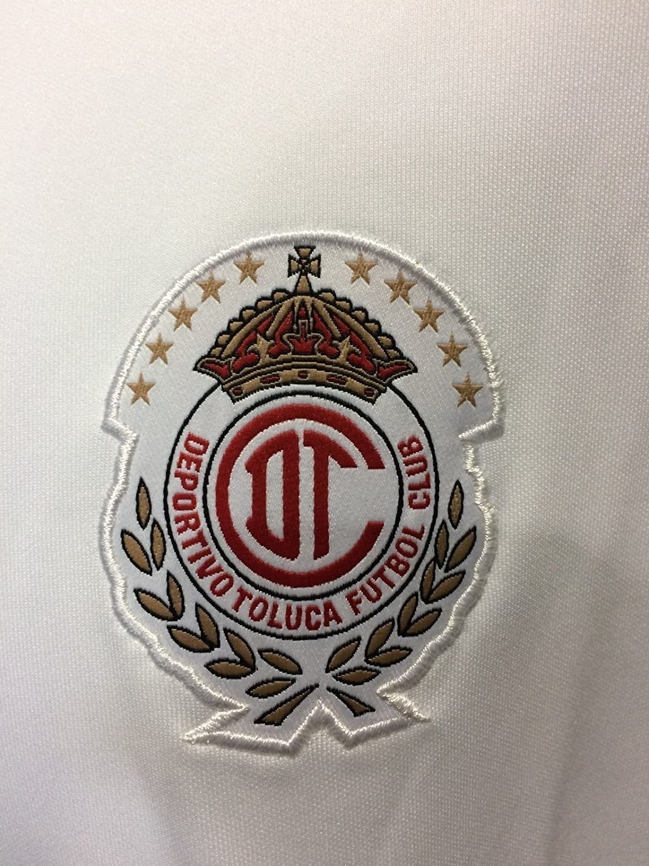 Amazon.com : Toluca Diablos Rojos White Polo Shirt Liga MX Authentic Mens Pumas America Chivas : Sports & Outdoors