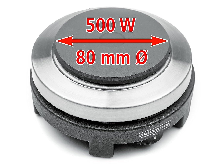 Hornillo de viaje con olla de aluminio y funda Rommelsbacher RK 501//SU