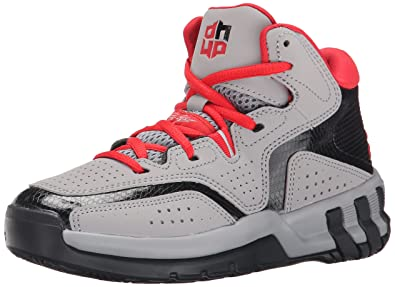 detailed look 43a09 c2283 adidas Performance D Howard 6 K Basketball Shoe, Light GreyVivid RedBlack