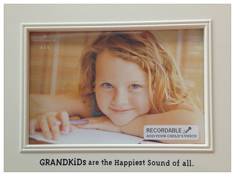 Amazon.com - Hallmark 4 x 6 recordable picture frame (Grandkids are ...