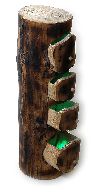 Natur baumstamm kaufen wohnling massivholz akazie metallbeine with natur baumstamm kaufen - Baumstamm mobel ...