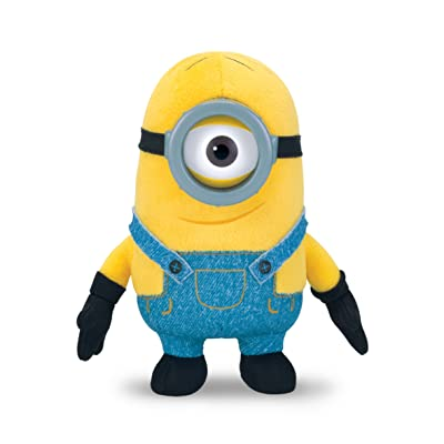 Minions Plush Buddies -Stuart, 5 Inches: Toys & Games