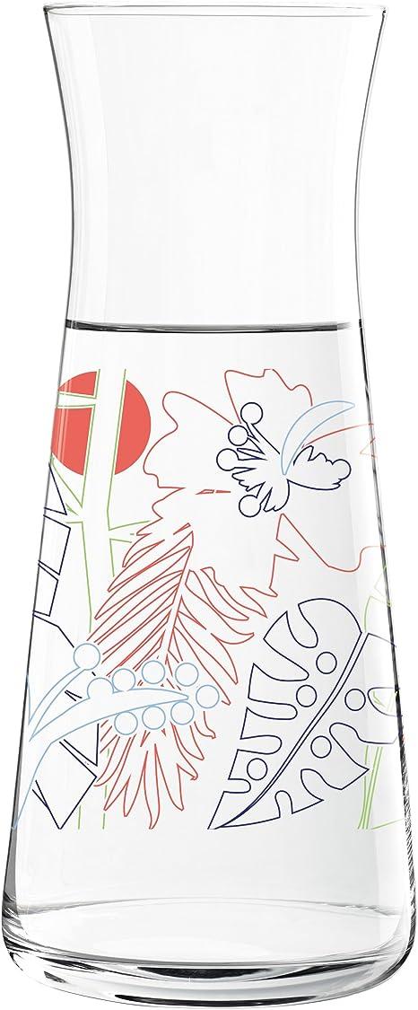 blau//gr/ün//rot 9.8 cm RITZENHOFF Daisy Glaskaraffe Glas