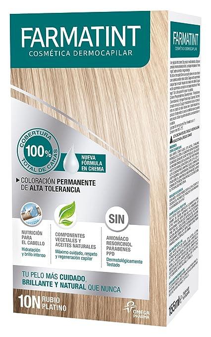 Farmatint Tinte Crema 10N Rubio Platino