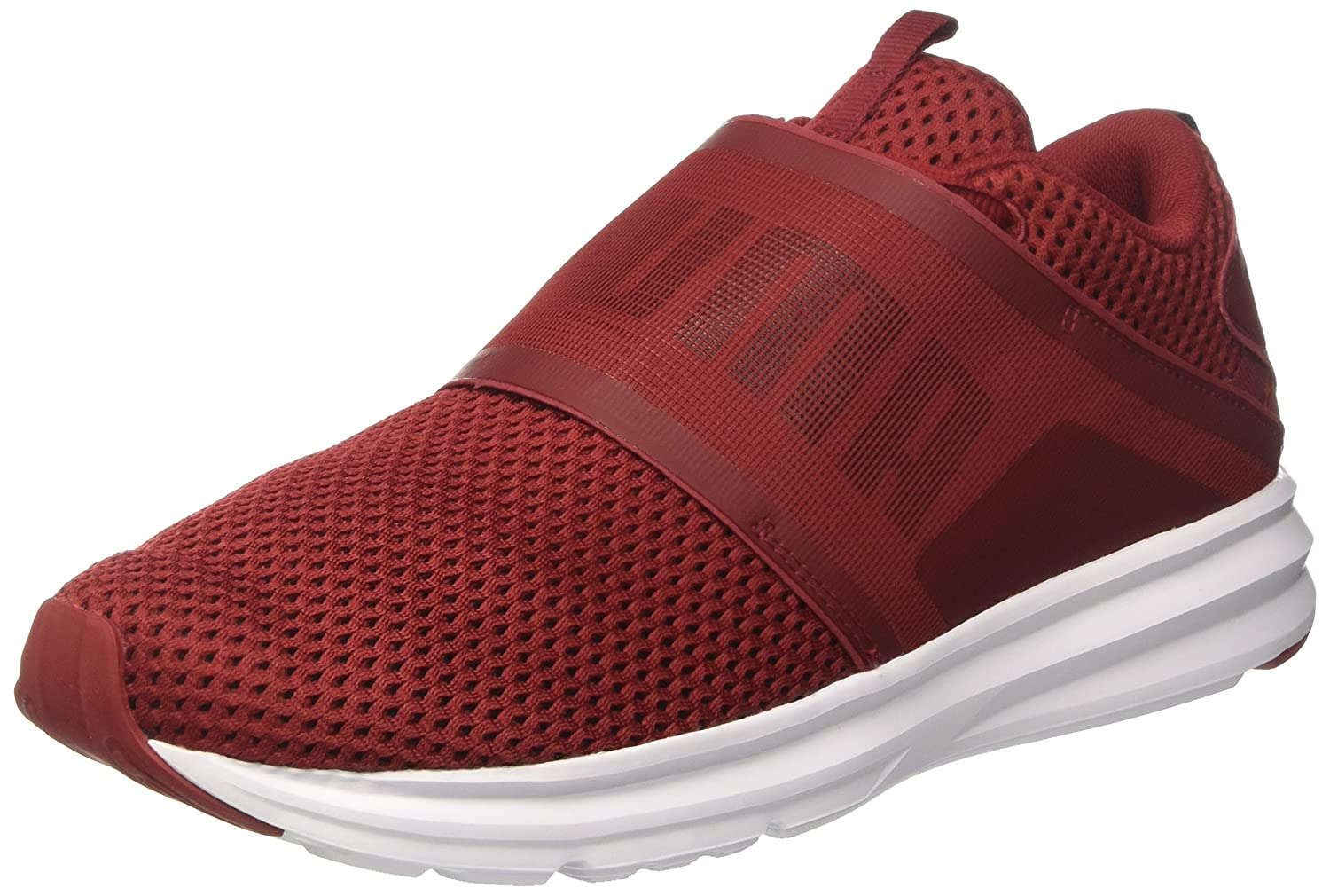 f7e270bb5e0 Puma Men s Red Dahlia-Black Running Shoes-8 UK India (42 EU) (19048102)   Buy Online at Low Prices in India - Amazon.in