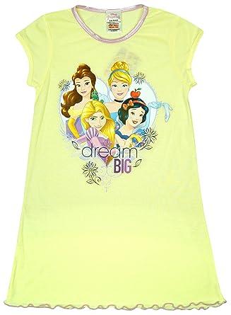 b064214e19 Girls Disney Princess Cinderella Snow White Dream Big Nightdress sizes from  2 to 8 Years  Amazon.co.uk  Clothing