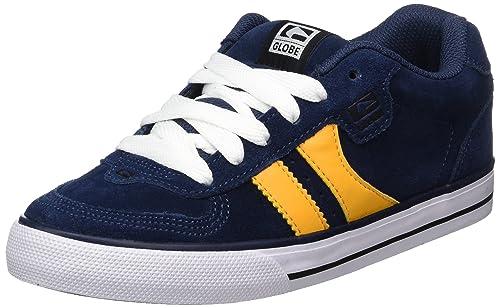 GLOBE Encore-2, Zapatillas de Deporte para Niños, Azul (Navy/Yellow 000), 37.5 EU: Amazon.es: Zapatos y complementos