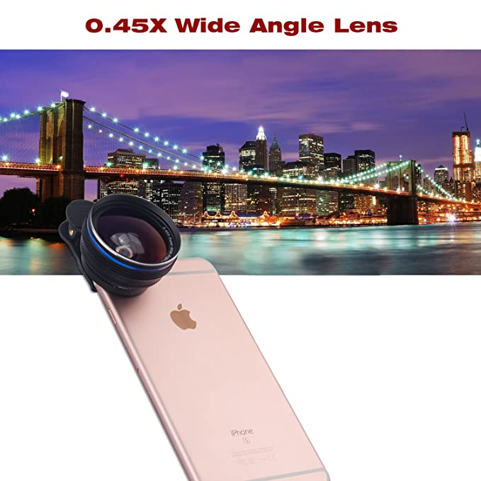 4071056d0b588a Amazon.com: Smart Phone Camera Lens 18X Telephoto Lens Optical Manual Zoom  Telescope Lens with Tripod and Clamp Clip-on Cell Phone for iPhone Samsung  HTC ...