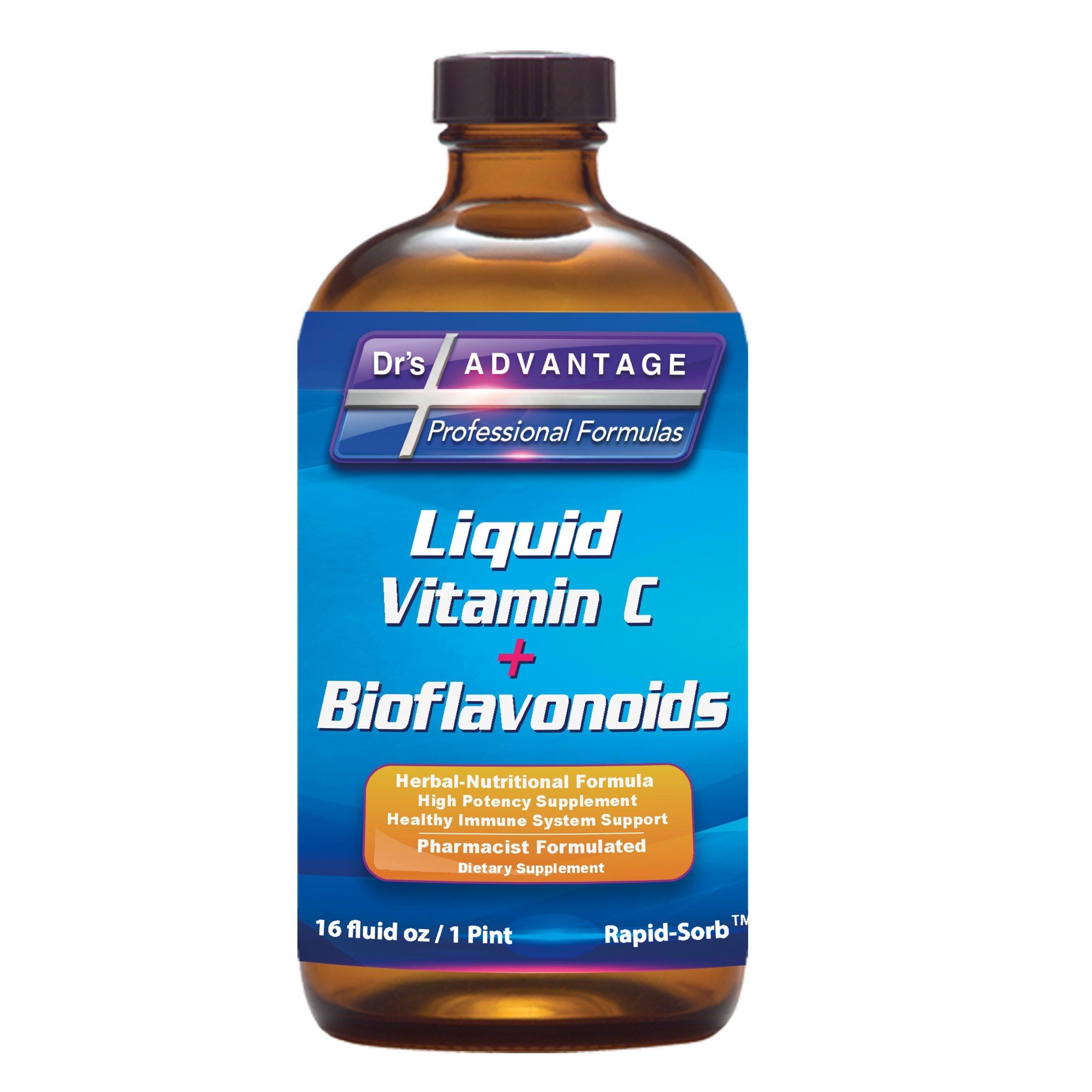 Liquid Vitamin C + Bioflavonoids 16oz