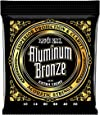 Ernie Ball Aluminum Bronze Extra Light Acoustic Set, .010 - .050