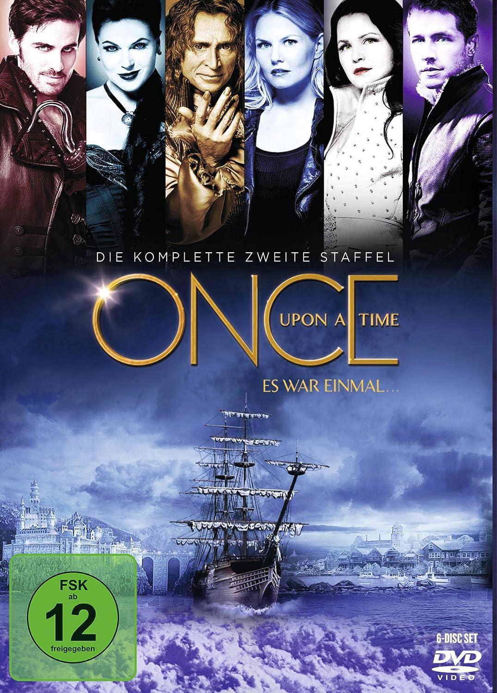 Once Upon a Time - Es war einmal ... Die komplette zweite Staffel [Alemania] [DVD]
