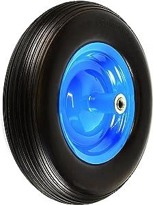 NK WFF16BK Flat-Free Wheelbarrow Tire with Ribbed Tread 6