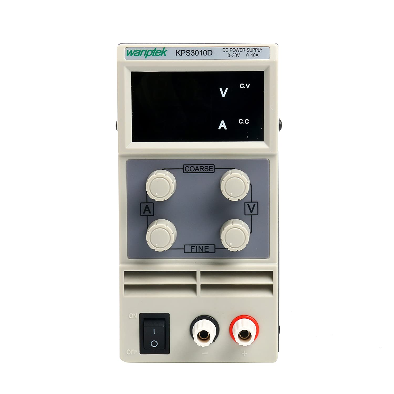 Dc Power Supply Variable 0 30 V 10 A Yaeccc Kps3010d Adjustable 30v0 2a Voltage And Current Regulator Switching Regulated Digital With Alligator Leads Us Cord Used For
