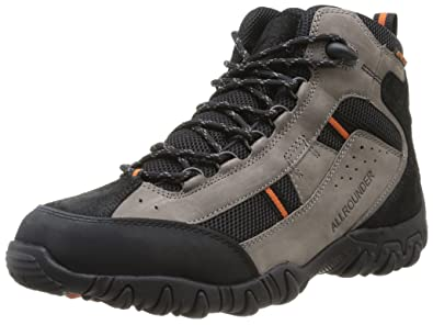 2ba35d0602 Mephisto Allrounder Ankle Boots SAMBOR-TEX Grey and Black Leather ( Waterproof) (7