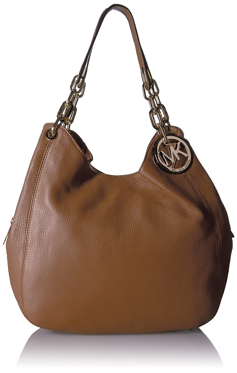 62716ca31573 MICHAEL Michael Kors Fulton Large Shoulder Tote Hobo Luggage: Amazon.in:  Clothing & Accessories