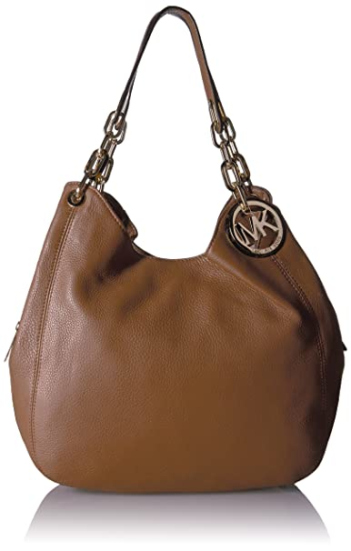 db3d6d384b1d9b MICHAEL Michael Kors Fulton Large Shoulder Tote Hobo Luggage: Amazon.in:  Clothing & Accessories