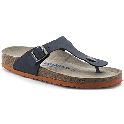 new authentic designer fashion preview of Birkenstock Sandales Gizeh Bleu Homme: Amazon.fr: Chaussures ...