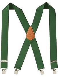 """John Deere Men's 2"""" Logger Style Suspender"""