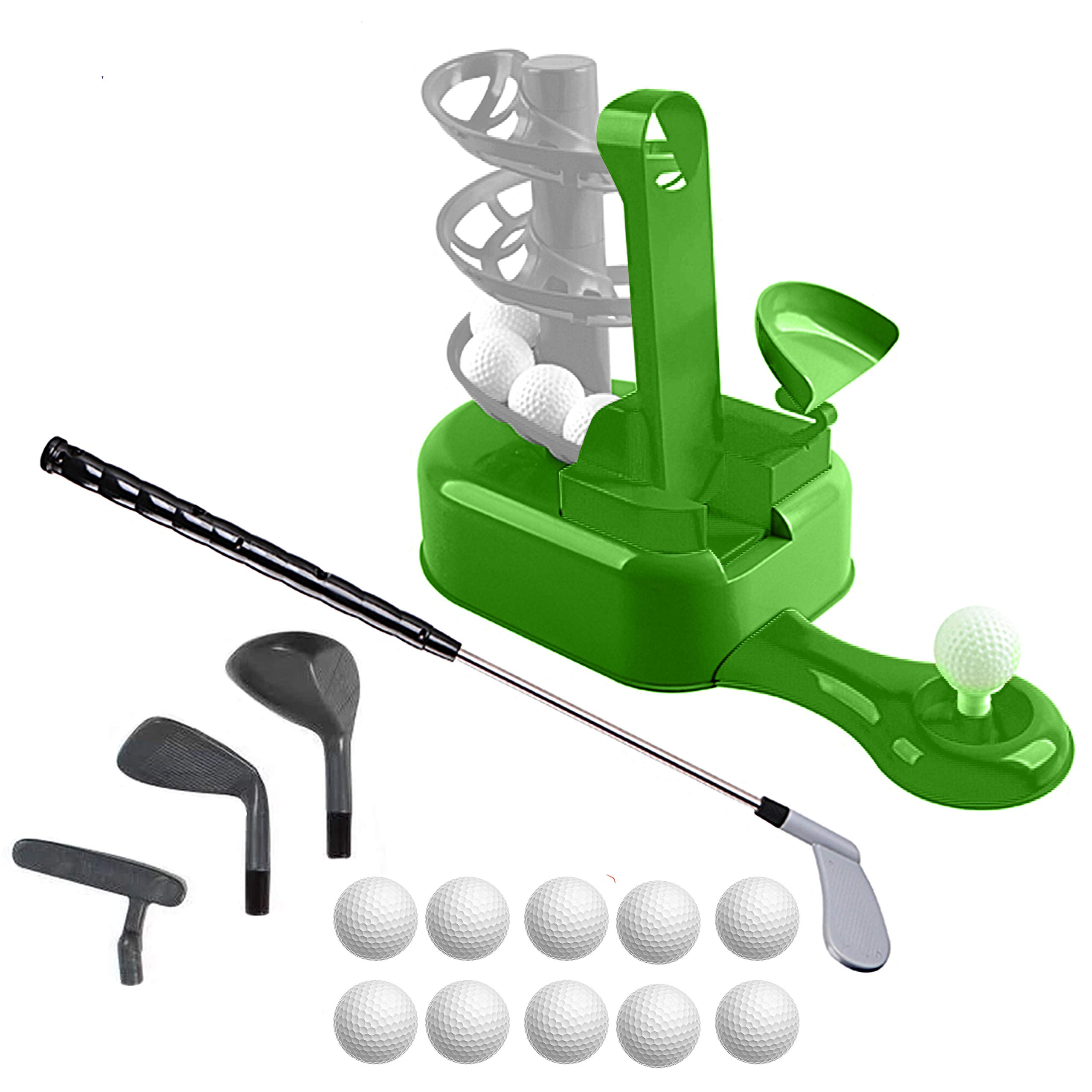 Sport Games Golf Toy Set, Kids Golf Clubs, Kids Golf Set, Toddler Golf Set, Kids Sports Toys, Toddler Sports Toys, Outdoor Exercise Toys for Kids, Boys, Girls, Includes Toy Golf Clubs and More by Sport Games
