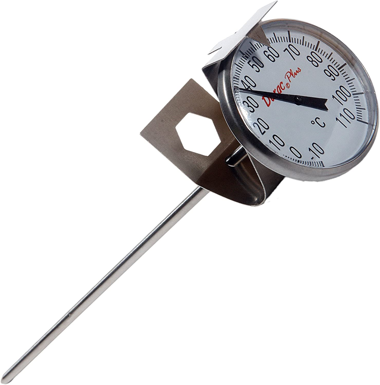 B61310-4500 44mm Dial H-B DURAC Bi-Metallic Thermometer; 0 to 150C