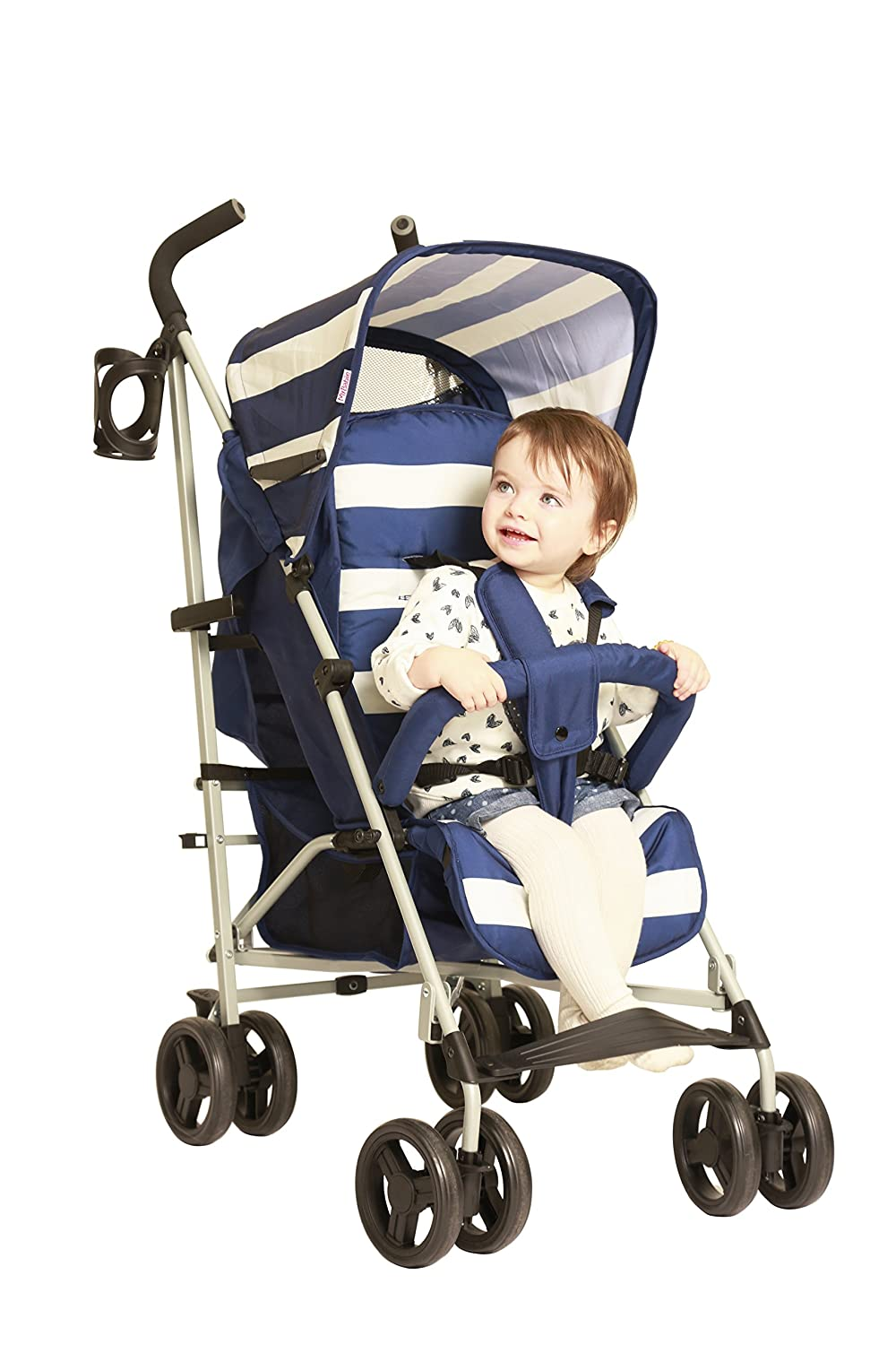 My Babiie Billie Faiers MB01 Blue Stripes Stroller 80.115.C.MB01BS