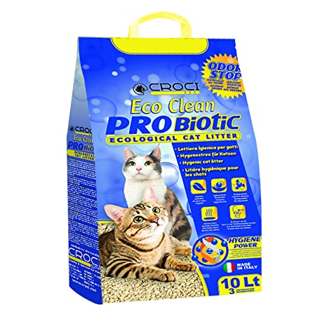 Croci C4025138 Arena para Gatos Eco Clean Probiotic, 10 L ...