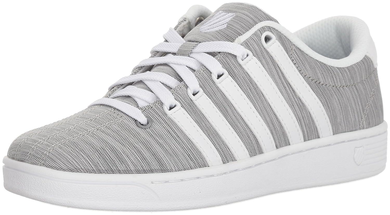 K-Swiss Women's Court Pro II T CMF Sneaker B073WR7DTK 5 B(M) US|White/Black/White