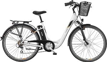 Telefunken Bike Mujer eléctrico bicicleta aluminio 28 pulgadas con ...