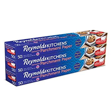 Reynolds Kitchens Parchment Paper (Smart Grid, Non Stick, 50 Square Foot  Roll