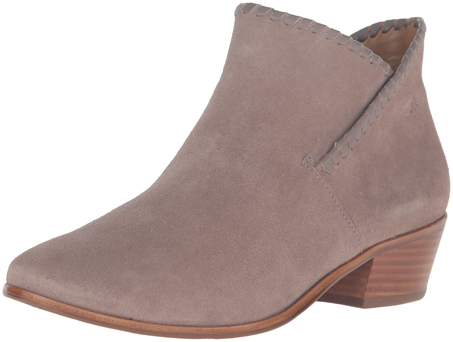 Jack Rogers Women's Sadie Suede Boot B01DCSS4RM 5.5 B(M) US|Light Grey
