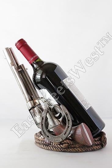 Amazoncom Western Cowboy Rustic Double Guns Pistols Horseshoe Rope