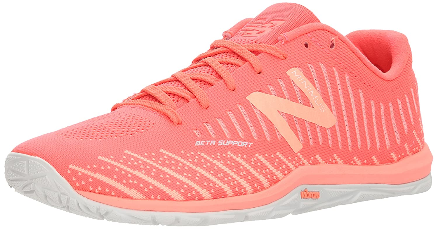 New Balance Women's 20v7 Cross Trainer B06XSCBC8B 11 D US|Vivid Coral/Fiji