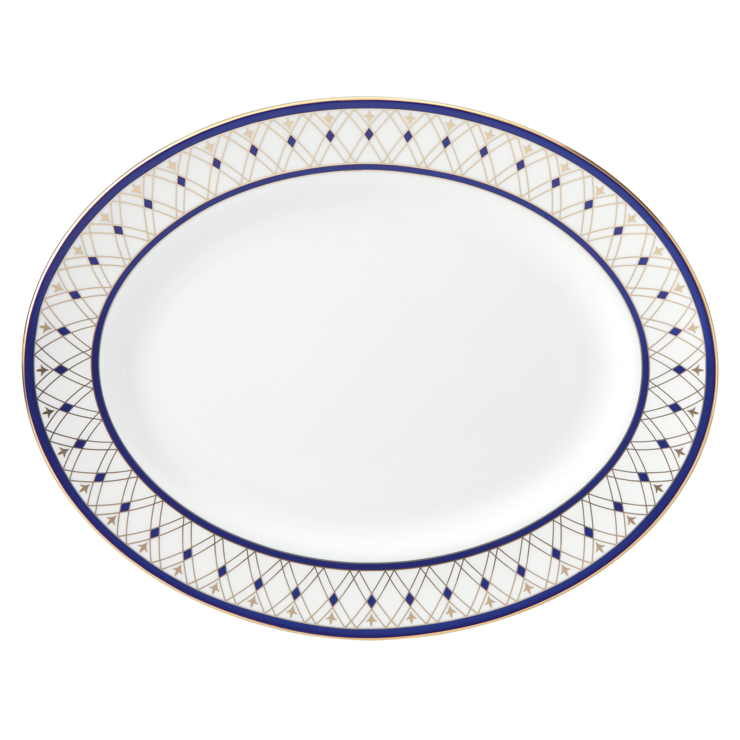 Lenox Royal Grandeur Oval Platter, 13'', White